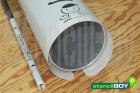 Rohrschablonen aus PET Kunststoff