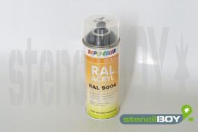 Acrylspray RAL 9004 signalschwarz