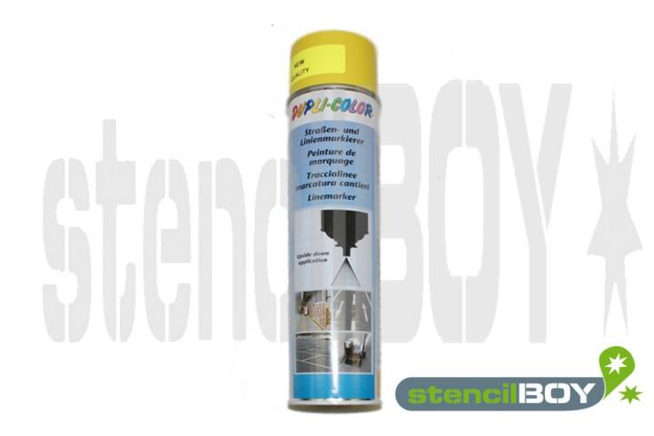 Strassen- und Linienmarkierungsspray- gelb DUPLI-COLOR