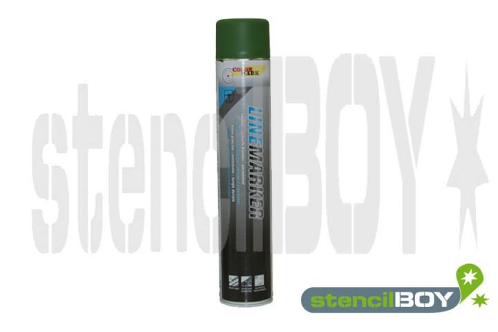 Linienmarkierungsspray- grün COLORMARK