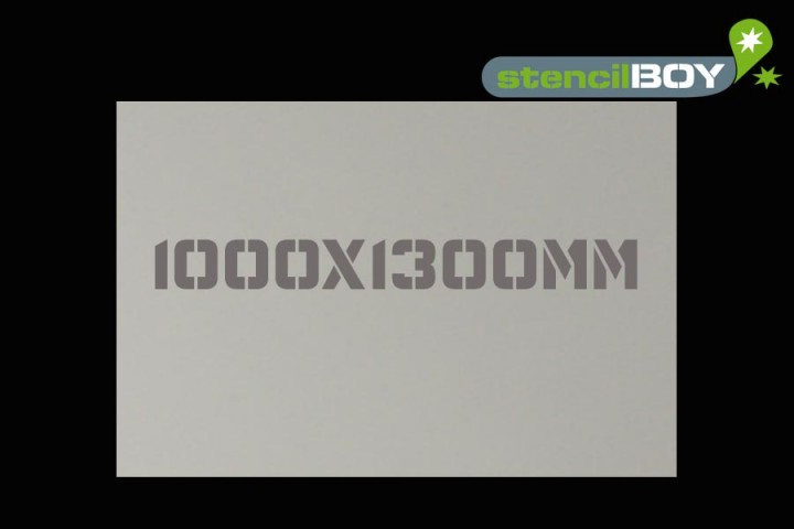 Mylar® Rohschablone 100x130cm 0,25mm oder 0,5mm