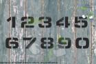 Zahlenschablone Schriftart ESS
