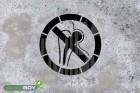 """Schablone """"Kein Zutritt für Personen mit Implantaten aus Metall"""""""