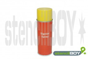 Schablonenspray - Signierspray Gelb (Ral 1018)
