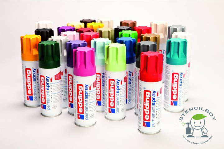 edding Permanent Acryl Spray in 32 Farben