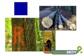 Bau- und Forstmarkierungsspray- leuchtblau DUPLI-COLOR