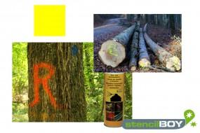 Bau- und Forstmarkierungsspray- leuchtgelb DUPLI-COLOR