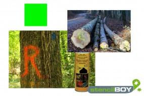 Bau- und Forstmarkierungsspray- leuchtgrün DUPLI-COLOR