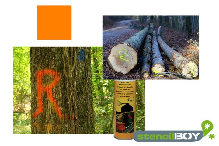 Bau- und Forstmarkierungsspray- leuchtorange DUPLI-COLOR