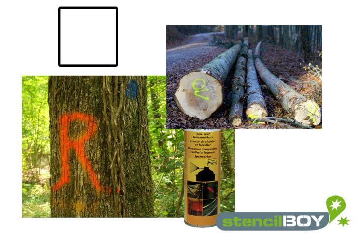 Bau- und Forstmarkierungsspray- weiss DUPLI-COLOR