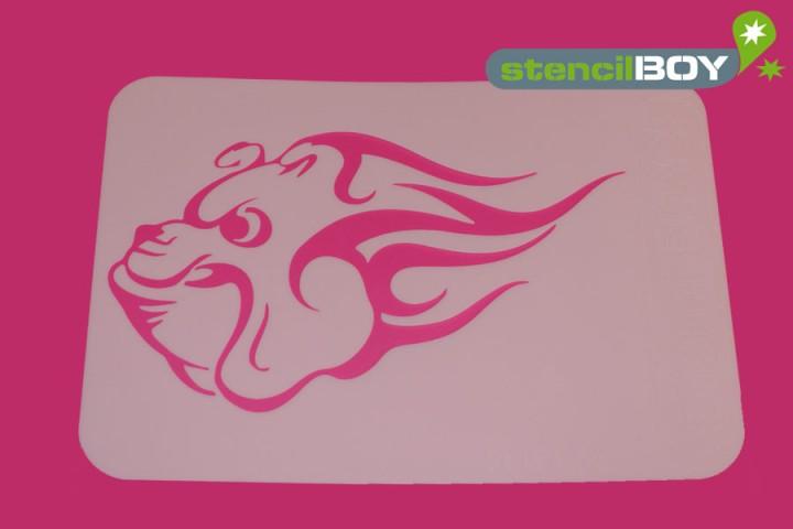 *Flaming Bulldog*