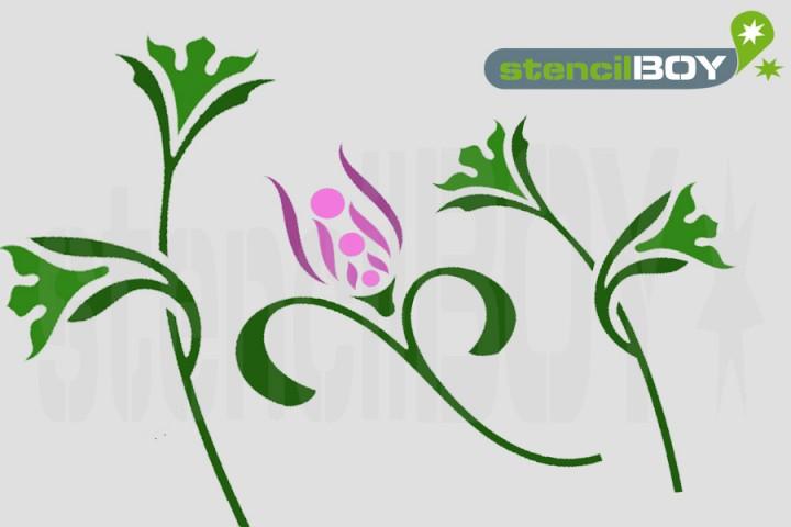 Florales Ornament *67*