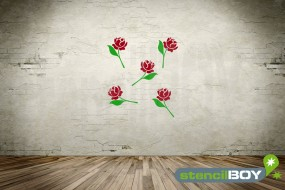 Florales Ornament *Rose*