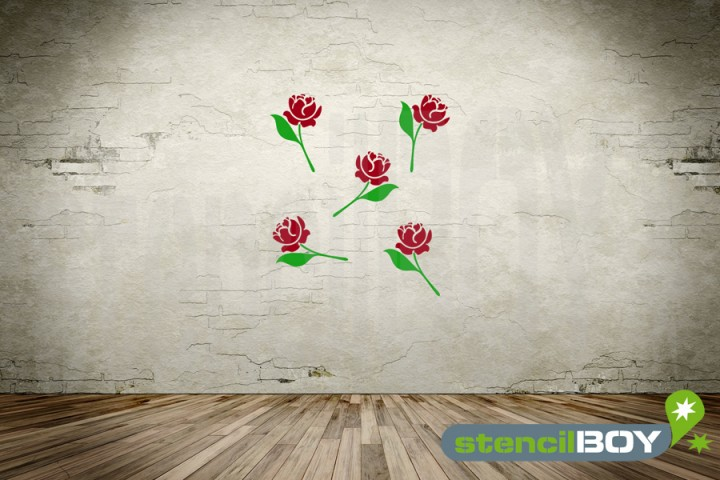Florales Ornament *Rose*