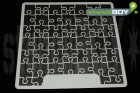 "12 x 12 Zoll ""Puzzle"" Scrapbookingschablone"