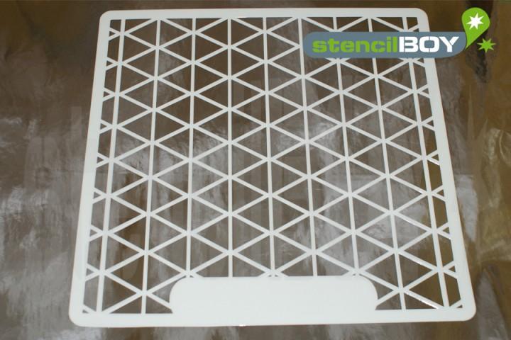 """12 x 12 Zoll """"Dreieck - triangle"""" Layoutschablone"""