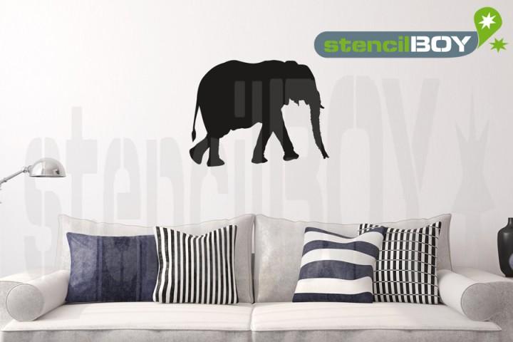 erwachsener Elefant