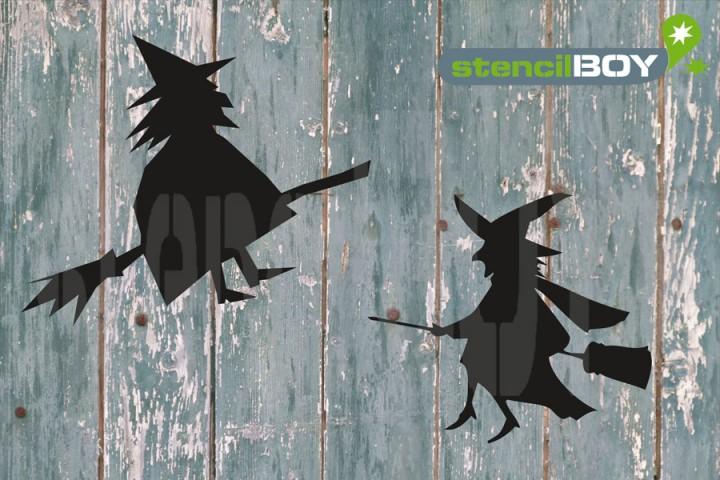 fliegende Hexen - flying witches 3