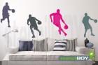 Basketball Spieler mit Ball beim Dribbling