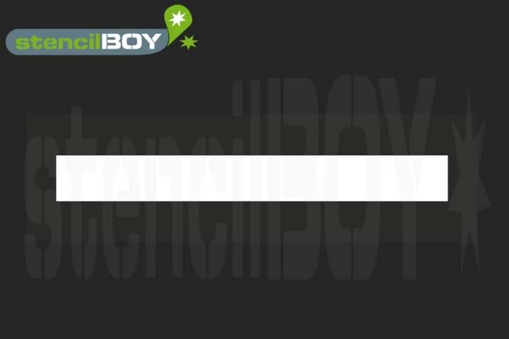 Linienschablone zur Bodenmarkierung (SB-Edition)