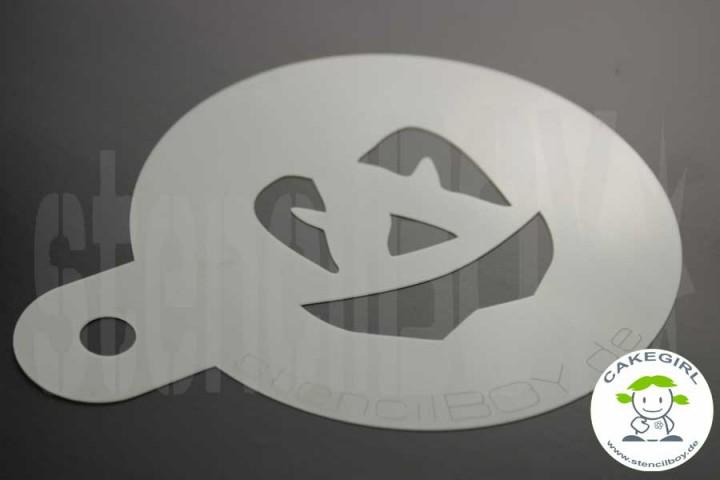 "Cake Stencil ""Jack O'Lantern - Halloweenfratze 1"""