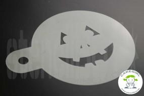 "Cake Stencil ""Jack O'Lantern - halloween grimace 3"""