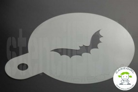 """Cake Stencil """"Fledermaus - Bat"""""""