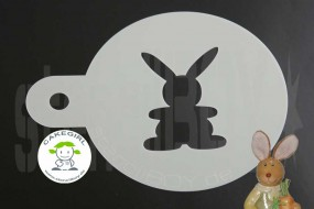 "Cake Stencil ""Easter bunny"""