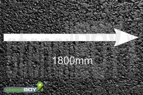 1800mm Richtungspfeil 2-teilige Bodenmarkierungs - Schablone