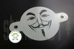 Guy Fawkes - Cake Stencil
