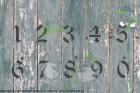 Zahlenschablone altdeutsche Schrift AD
