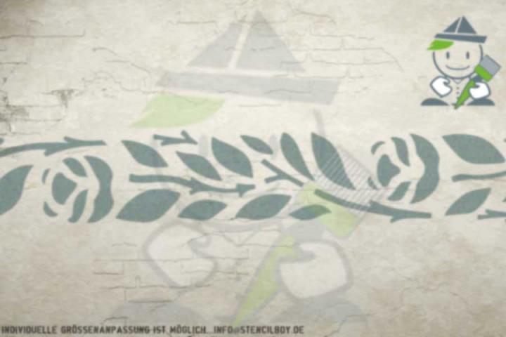 Border stencil motif 10512