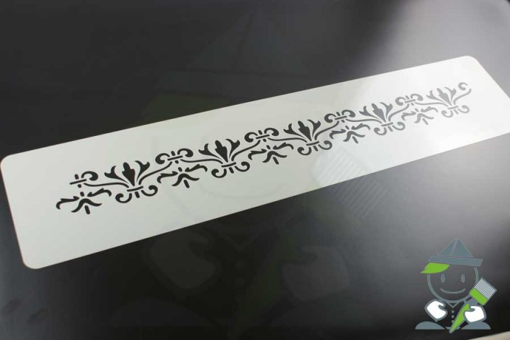 wandschablone motiv 10516 einschl gige wandschablonen. Black Bedroom Furniture Sets. Home Design Ideas