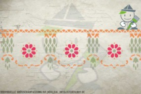 Wandschablone Motiv 10525