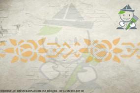 Wandschablone Motiv 10531