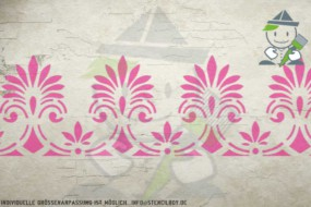 Border stencil motif 10536