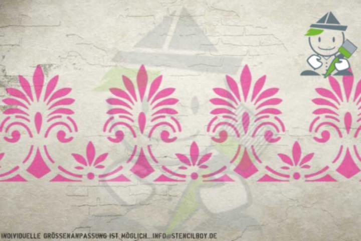 Bordürenschablone Motiv 10536