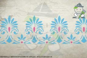 Border stencil motif 10537