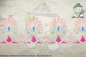 Border stencil motif 10540