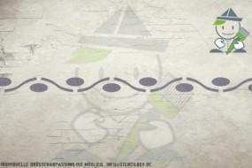 Border stencil motif 10549