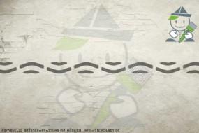 Border stencil motif 10551