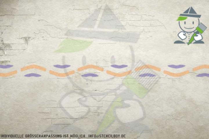 Border stencil motif 10552
