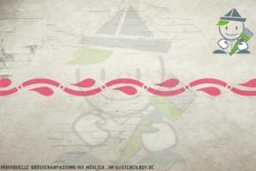 Border stencil motif 10553