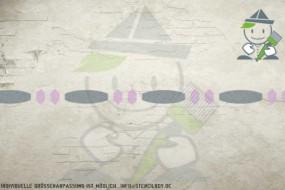 Border stencil motif 10557